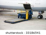 photo of a cargo unloading