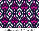 geometric ethnic pattern... | Shutterstock .eps vector #331868477