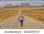 Wanderer Or Loner In Monument...