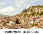quito ecuador cityscape with... | Shutterstock . vector #331873883