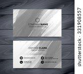 grunge style business card... | Shutterstock .eps vector #331908557
