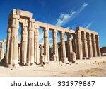 temple of luxor  | Shutterstock . vector #331979867