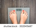 lose weight concept with person ... | Shutterstock . vector #332045687