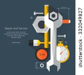 repair and service.home and...   Shutterstock .eps vector #332049827