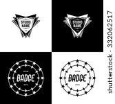 vector badges | Shutterstock .eps vector #332062517