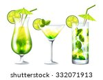 vector collection of fresh... | Shutterstock .eps vector #332071913