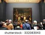 amsterdam  the netherlands ... | Shutterstock . vector #332083043