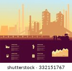 cement plant | Shutterstock .eps vector #332151767