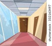 Office Room Doors Corridor...