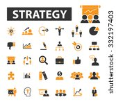 business strategy  goal  idea...   Shutterstock .eps vector #332197403