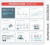 infographic presentation... | Shutterstock .eps vector #332238263