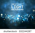 Festive Light Background With...