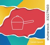 pot line icon | Shutterstock .eps vector #332279603