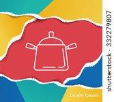 pot line icon | Shutterstock .eps vector #332279807