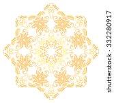 oriental vector colorful... | Shutterstock .eps vector #332280917