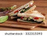 Sandwich Of Whole Wheat Bread...