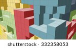 cube background | Shutterstock .eps vector #332358053