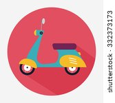 scooter icon | Shutterstock .eps vector #332373173