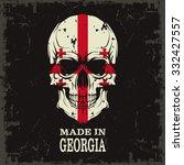 skull color of the flag | Shutterstock .eps vector #332427557