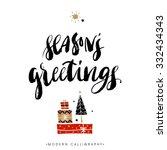 Season's Greetings. Christmas...