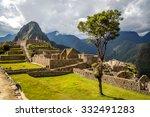 machu picchu  peru   august 8th ... | Shutterstock . vector #332491283