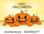 halloween vector card   Shutterstock .eps vector #332500277