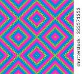 tileable checkered pink blue...   Shutterstock . vector #332571353