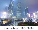 empty marble floor road with... | Shutterstock . vector #332728337