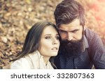 one beautiful stylish tender... | Shutterstock . vector #332807363