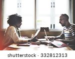 team partner communication... | Shutterstock . vector #332812313