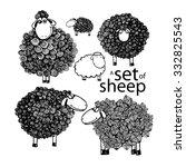 Sheep Rear View Clip Art, Vector Sheep Rear View - 307 ...