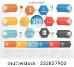 seo and searching web... | Shutterstock .eps vector #332837903