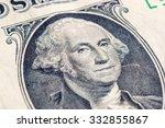 us one dollar bill closeup