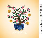 Chinese New Year Peach Tree....