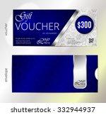 vector illustration gift... | Shutterstock .eps vector #332944937