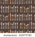 vintage colors seamless pattern.... | Shutterstock .eps vector #332975783