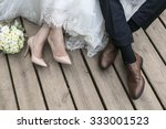 Feet Of Bride And Groom ...