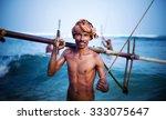 Smiling Fisherman Portrait...