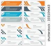 Banner Design 4 Item Orange  ...