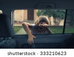 cute 5 year old girl child... | Shutterstock . vector #333210623