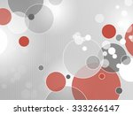 circle background grey red | Shutterstock .eps vector #333266147
