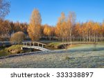 Country Landscape With Small...