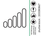 graph line icon   Shutterstock .eps vector #333380867