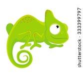 chameleon | Shutterstock .eps vector #333399797