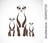 Vector Image Of An Meerkats On...
