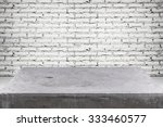 empty concrete table top on... | Shutterstock . vector #333460577