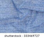 closeup blue jeans texture for... | Shutterstock . vector #333469727