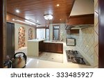 kitchen interior design... | Shutterstock . vector #333485927