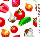 vegetables | Shutterstock .eps vector #333495197