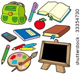 back to school collection 1  ... | Shutterstock .eps vector #33354730